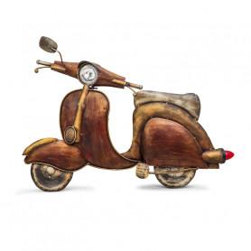 Декор из металла, скутер