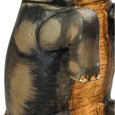 Деревянный слон, декор ШаШа
