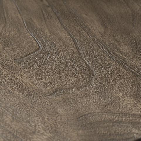 Стол из массива, ДЖИВАН platinum silver, 1.5 метра