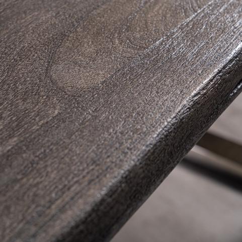 Стол из массива большой, ДЖИВАН platinum silver, 2,5 метра