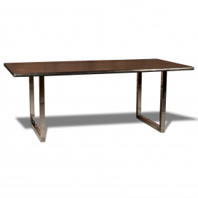 Деревянный стол лофт LIFE sigar silver (live-03/036)